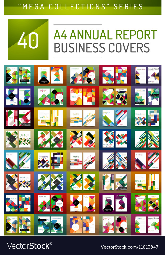 Mega collection of 40 business annual report