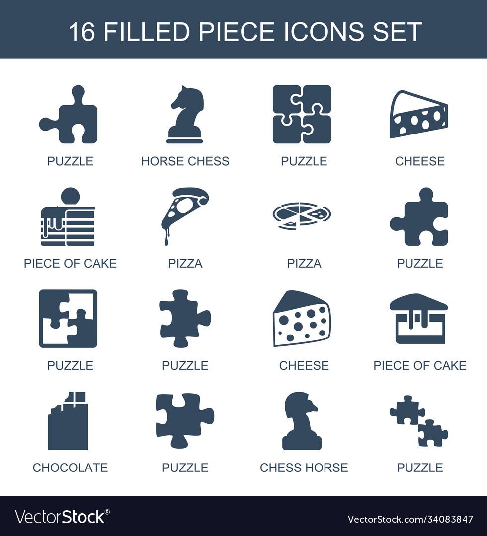 Piece icons