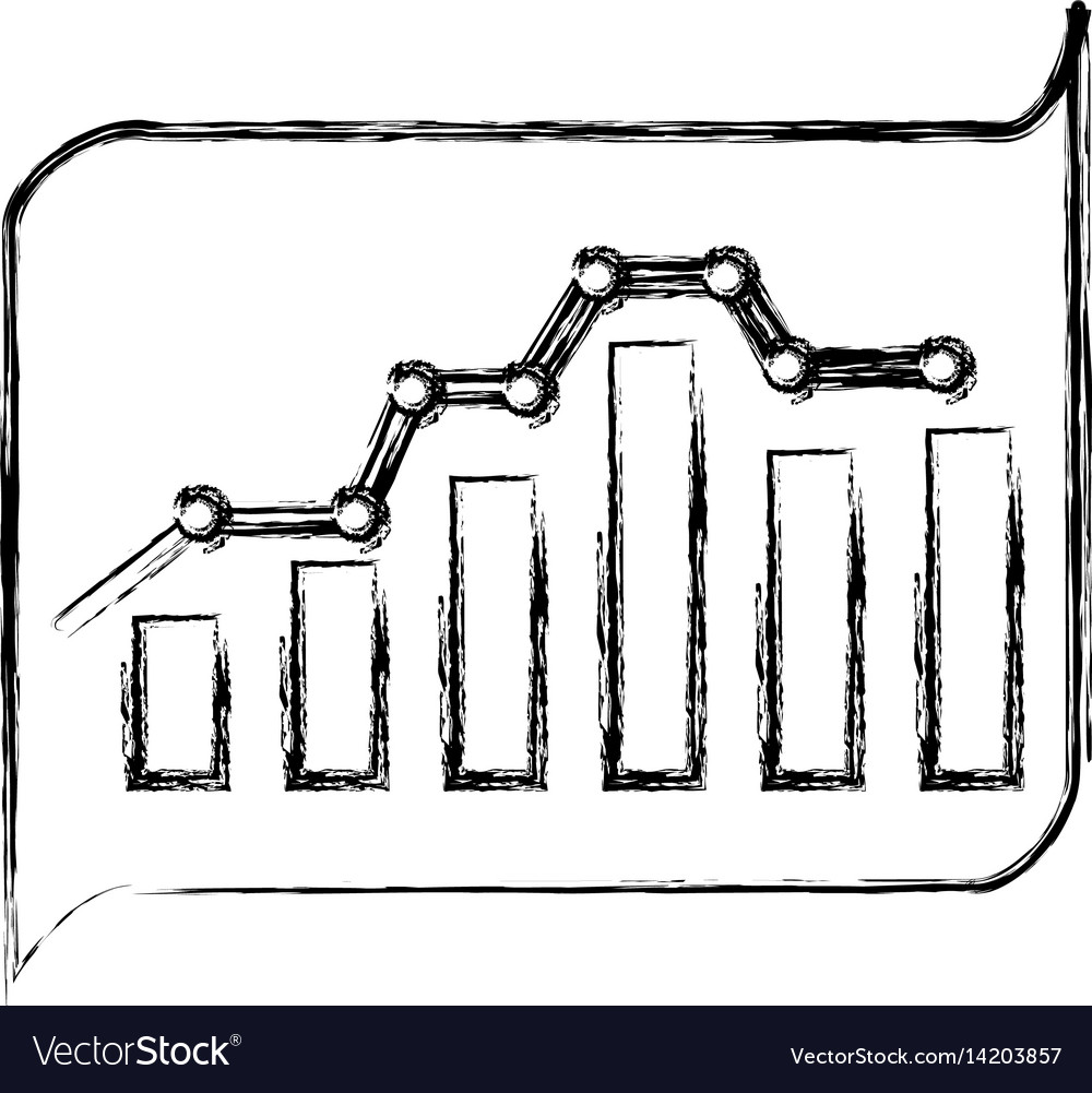 Bars statistics isolated icon