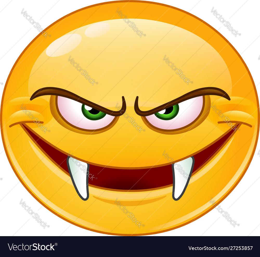 Fangs emoticon
