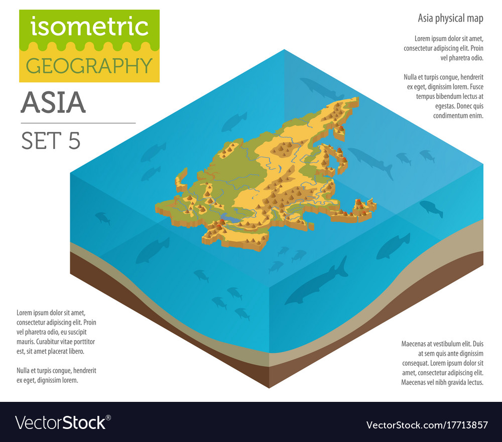 Map Of Asia 3d.Isometric 3d Asia Physical Map Constructor