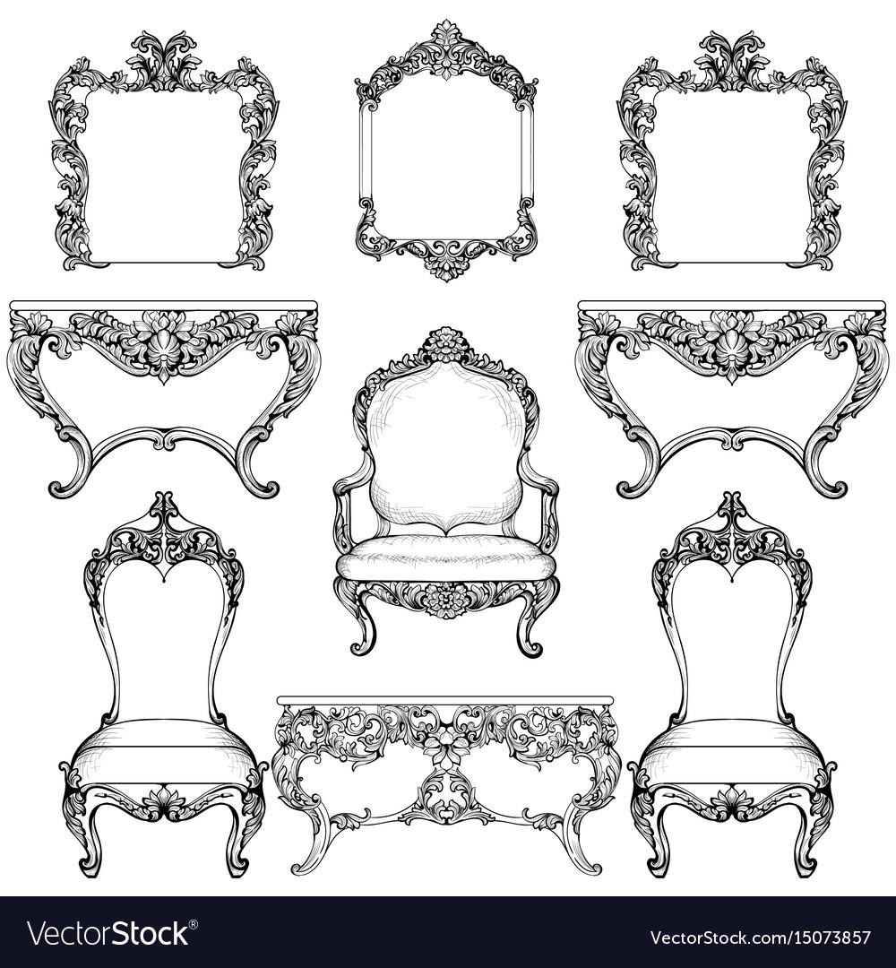 Baroque Vs Rococo Furniture
