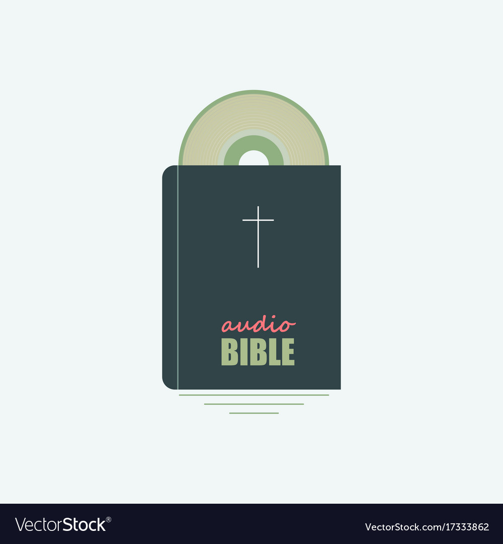 Your Audio Bible Vector Image