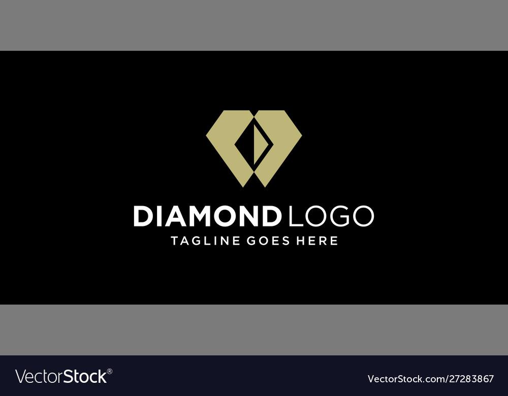 Creative diamond logo design inspiration