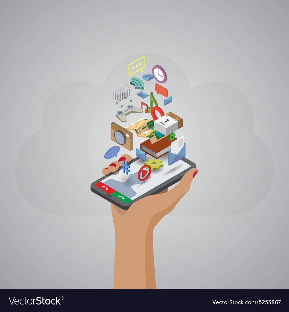 Mobile phone applications navigation communication
