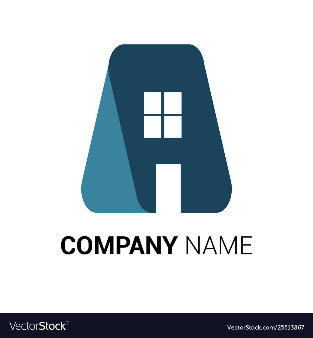 Real estate logo premium