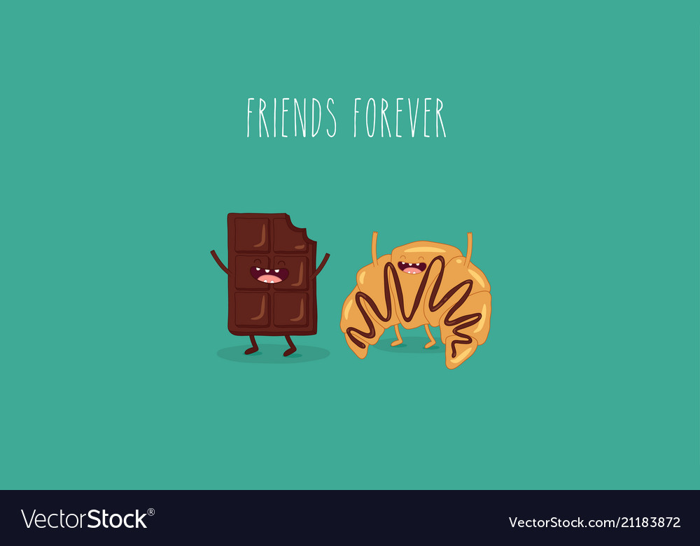Chokolate and croissant friends