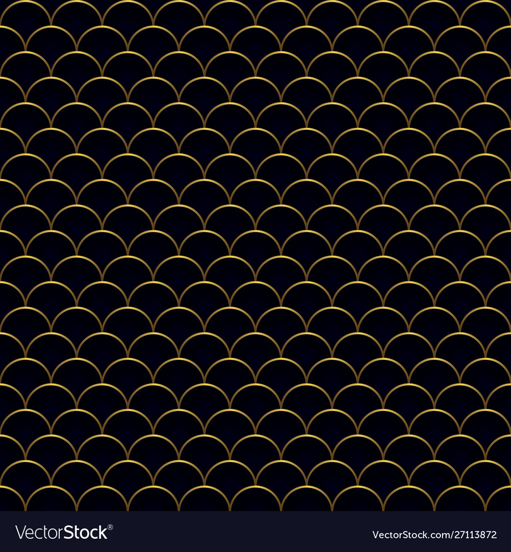 Seamless antique waves pattern