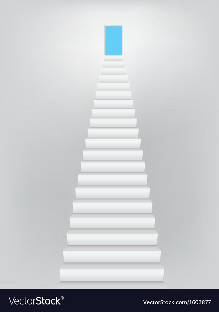 Stairway to the Heaven Door vector image