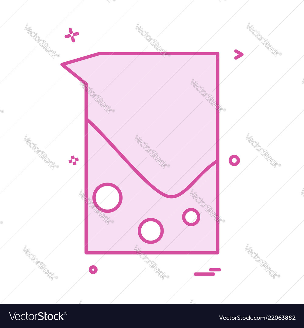 Beaker jug icon design