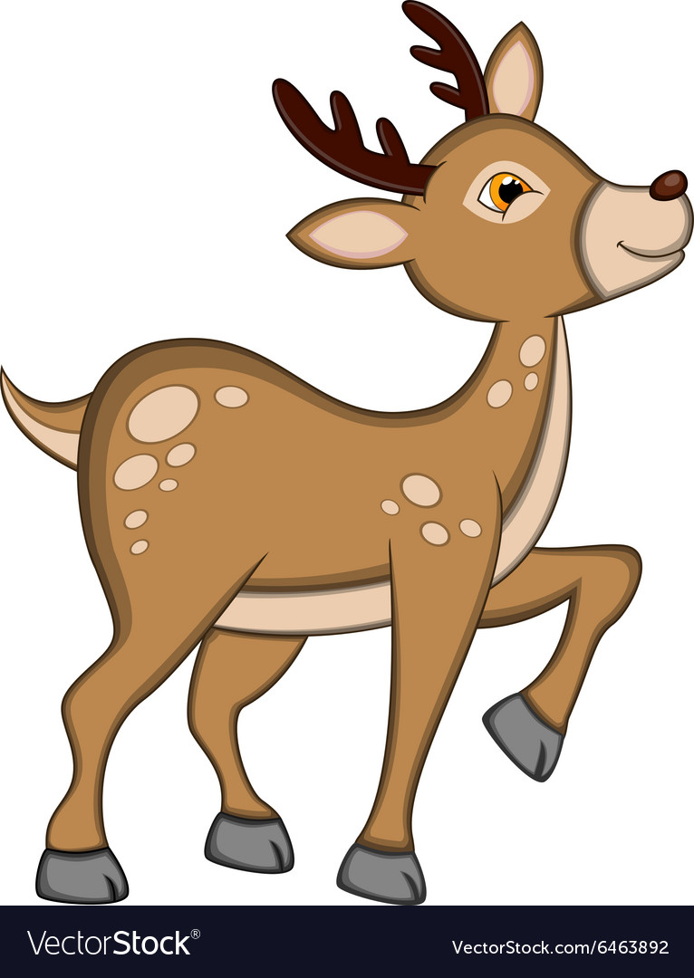 Reindeer For Your Design vector image