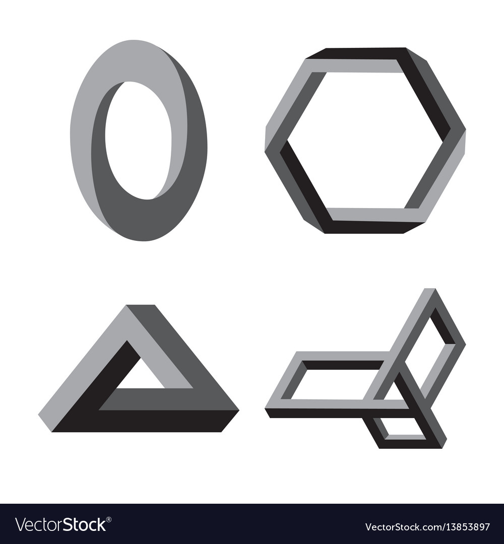 Modern abstract logo or element design vector image