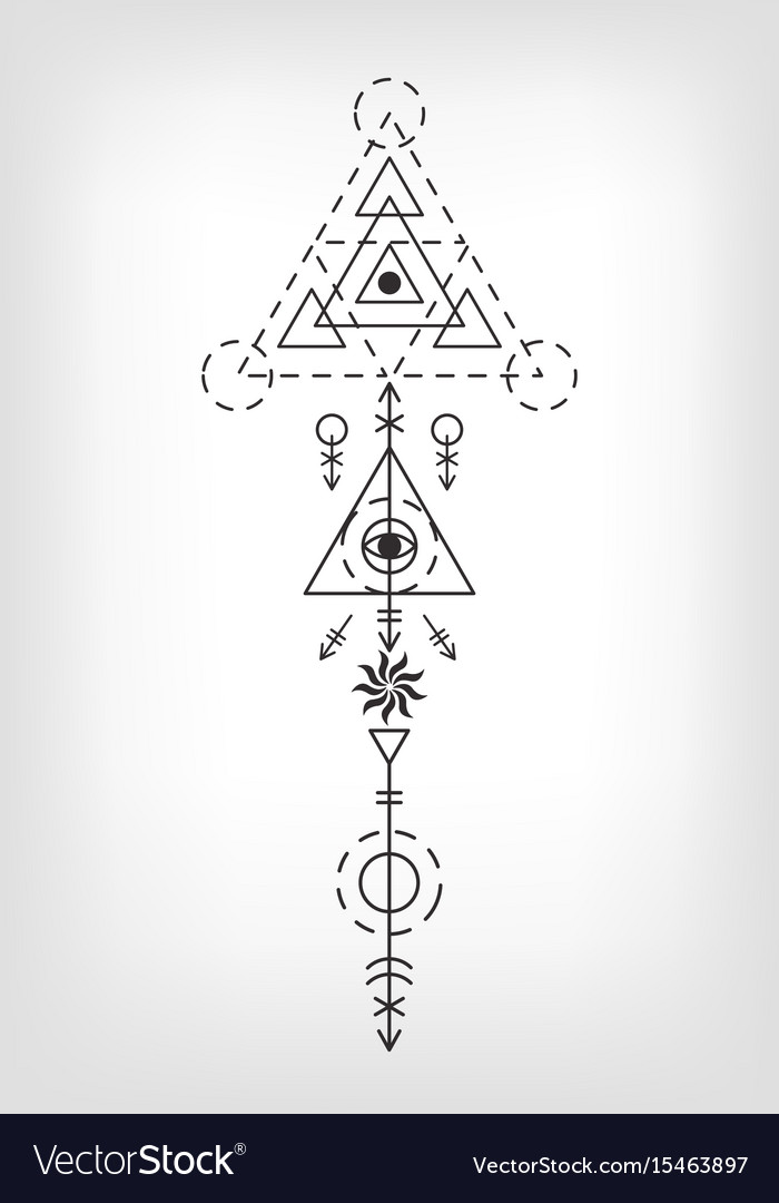 It's just an image of Current Sacred Geometry Beetle Tattoo Drawing