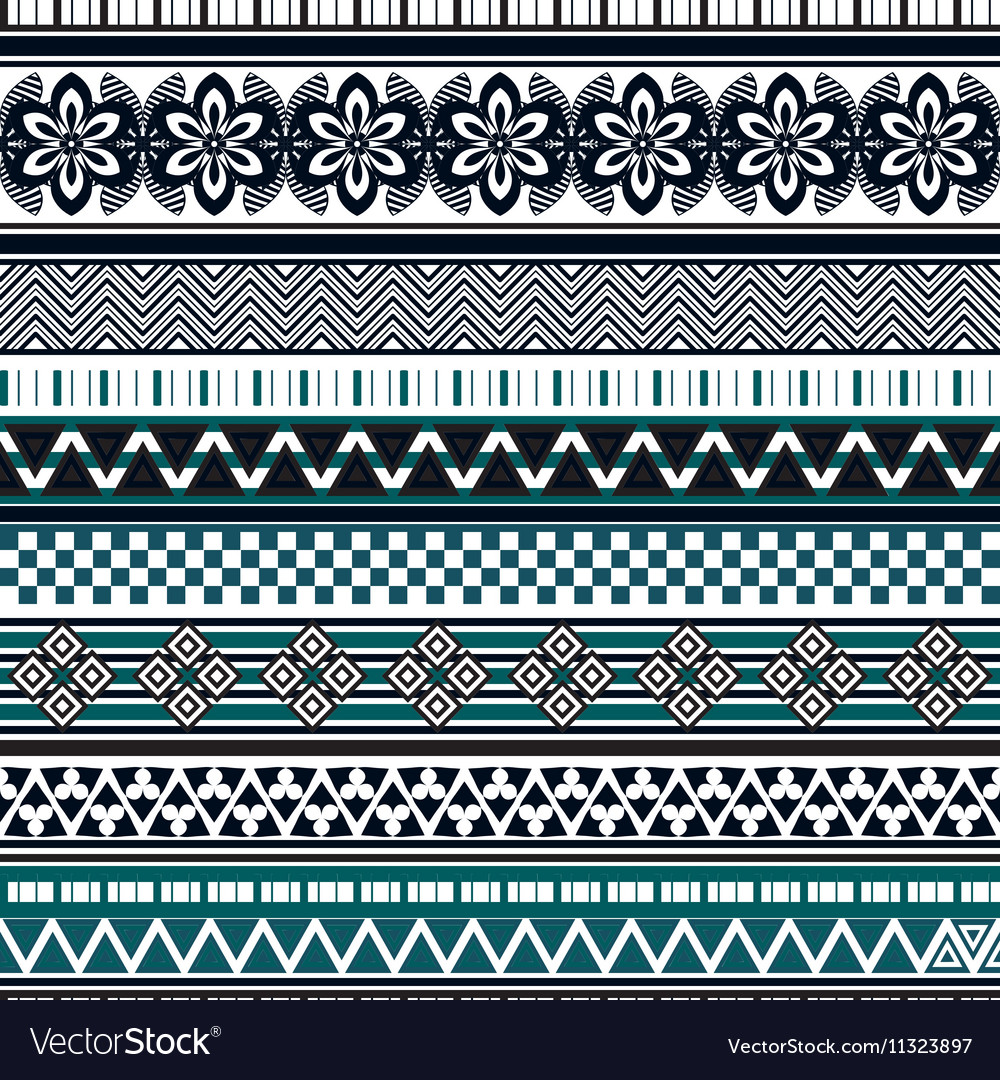 Tribal seamless pattern abstract background