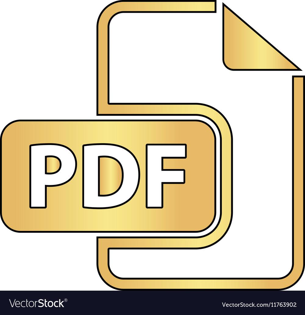 PDF computer symbol