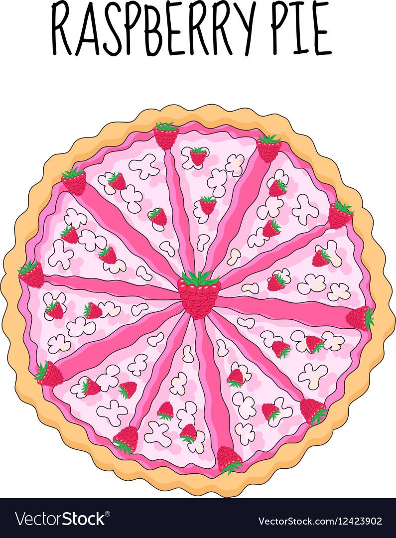 Raspberry cake birthday cake Baking with