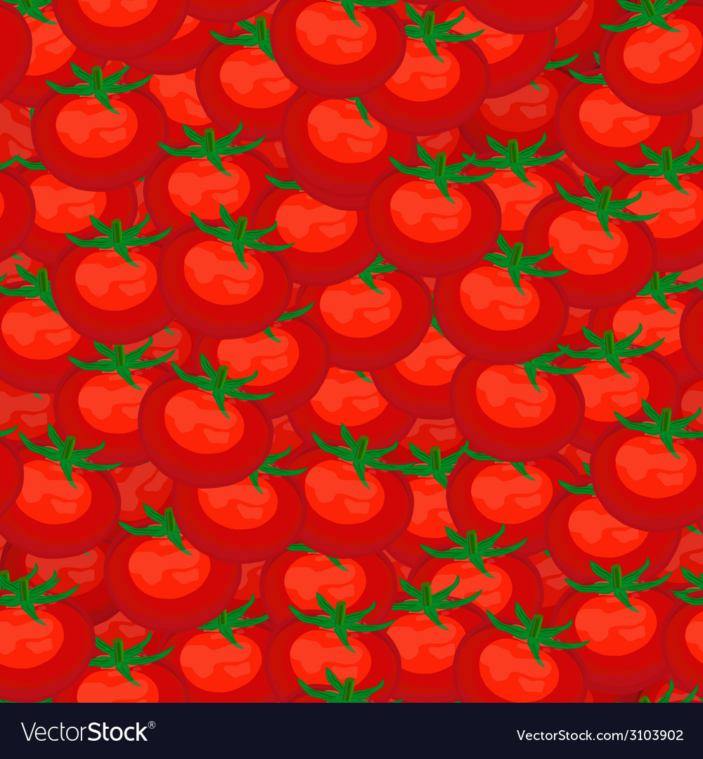 Seamless background red ripe tomatoes