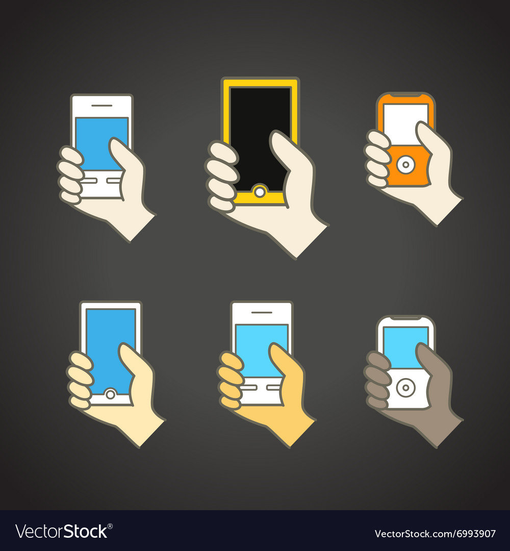 Different modern mobile gadgets