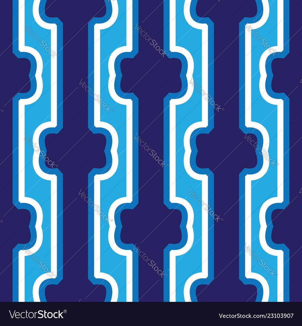 Seamless abstract dark blue vertical lines art