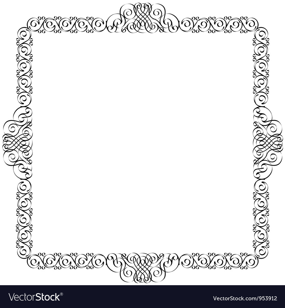 Decorative frame for design