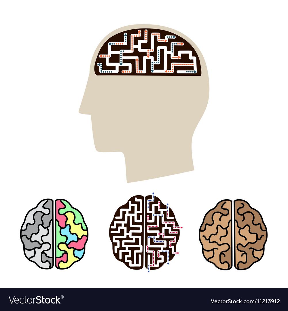 Icons of human brain activity