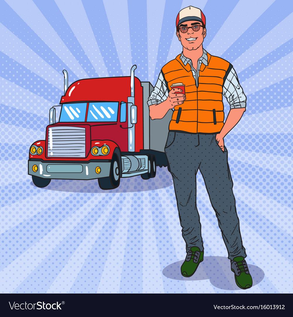 Картинки для детей водитель грузовика