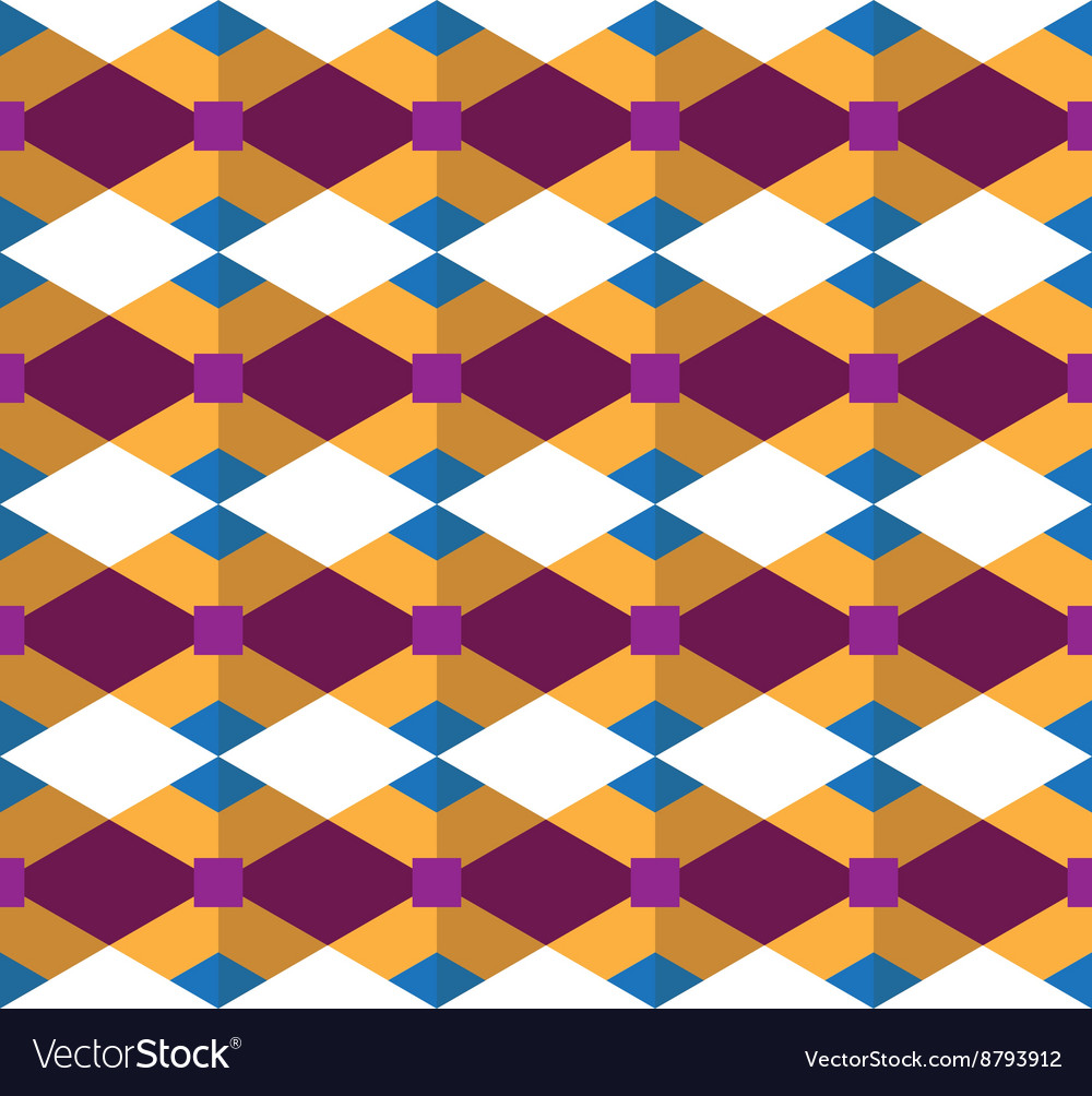 Seamless geometric pattern geometric designed