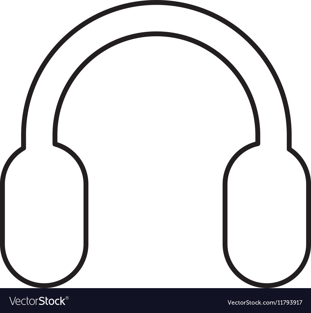 Headset sound device isolated icon