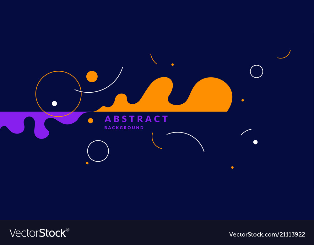 Abstract background with straight lines splashes