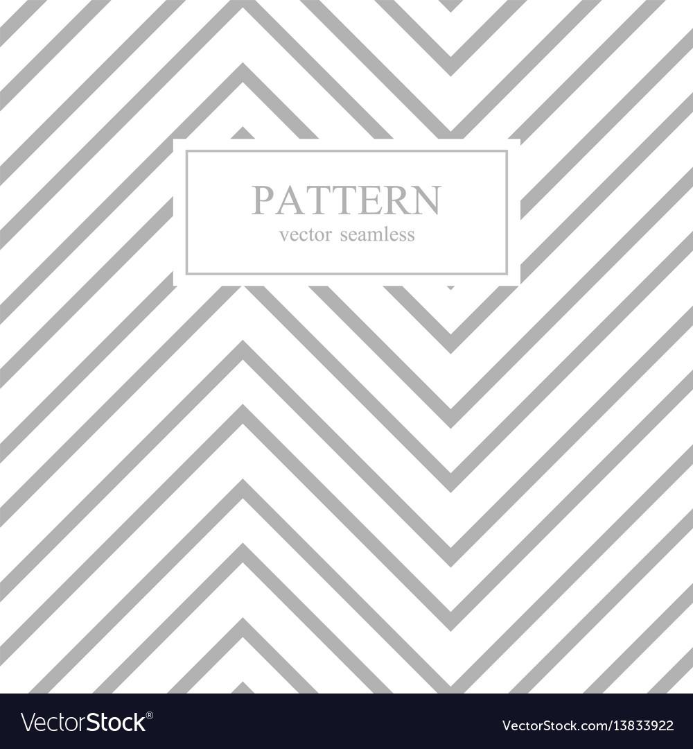 Zigzag seamless minimalistic pattern