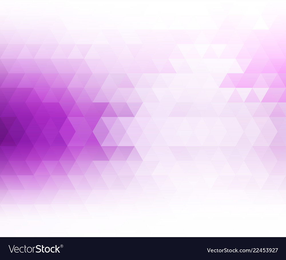 Color abstract geometric banner