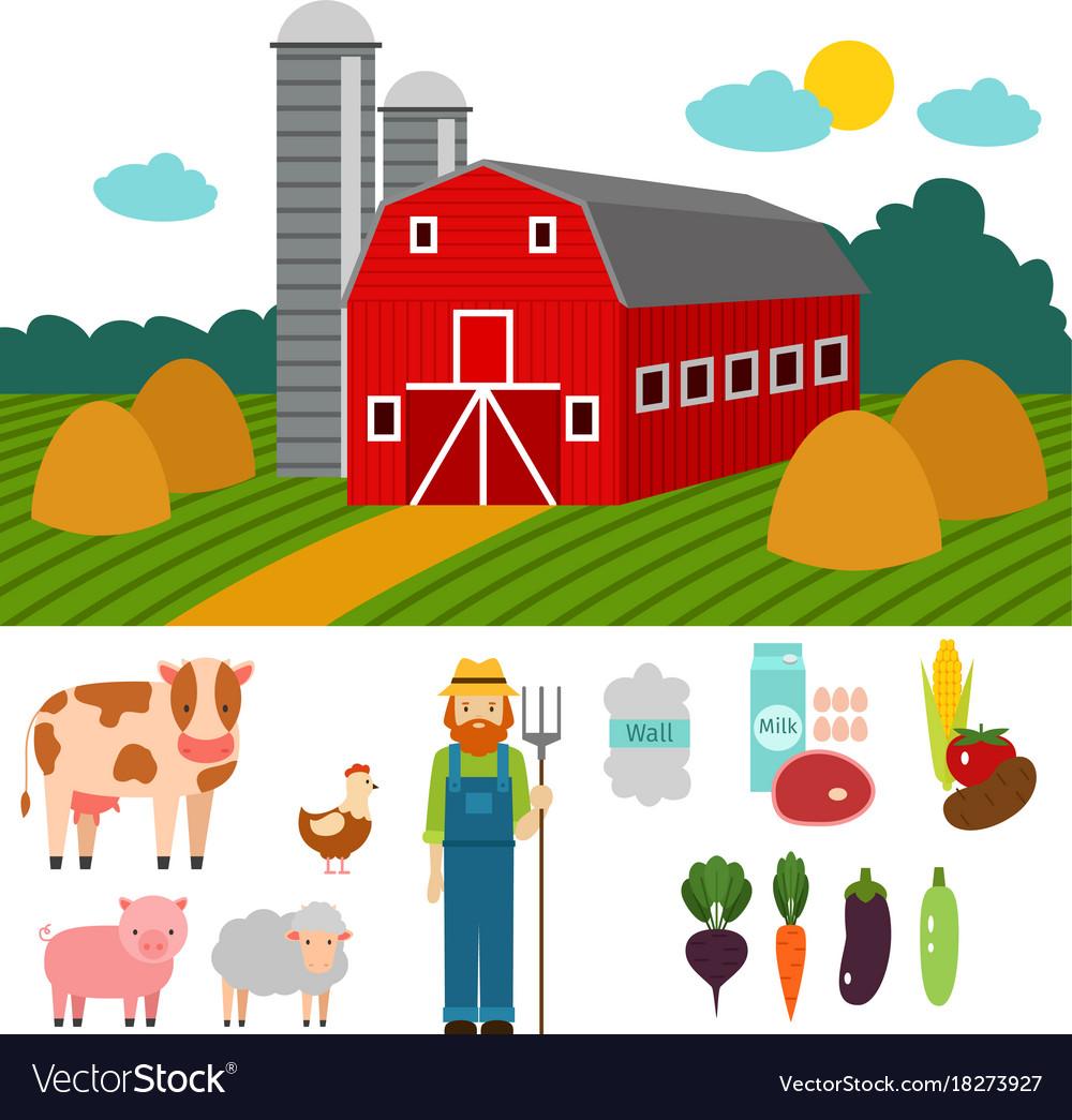 Farm nature food harvesting