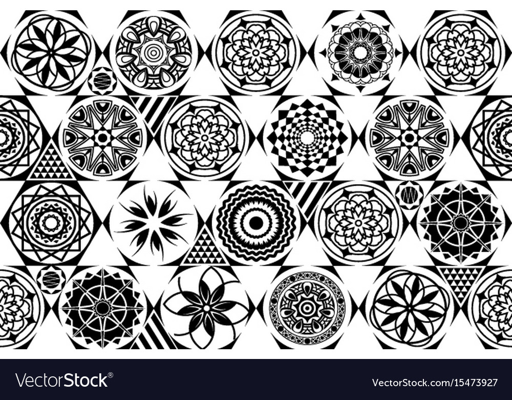 Universal Different Seamless Patterns Tiling Vector Image Impressive Different Patterns