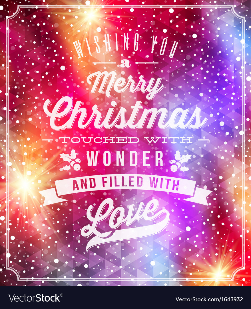 Christmas lettering greetings