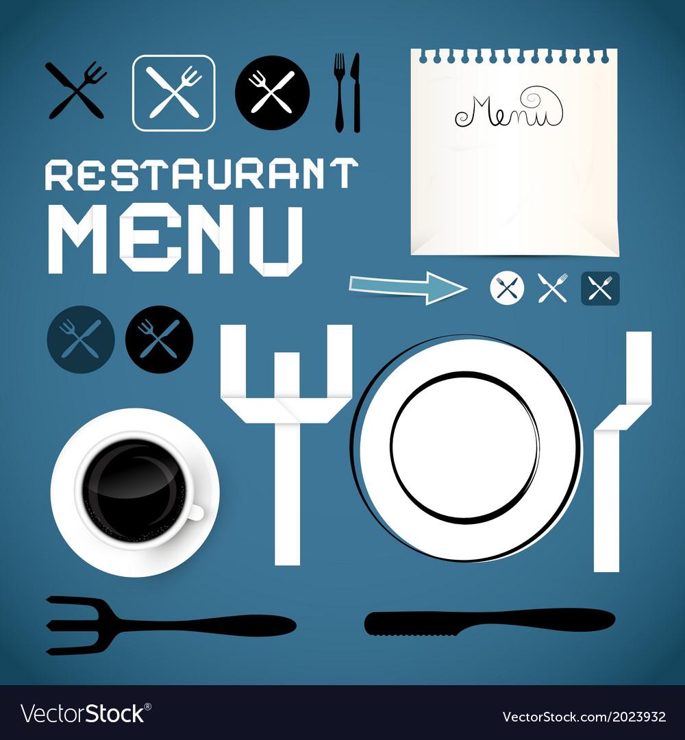 Restaurant Menu Template - Design Elements