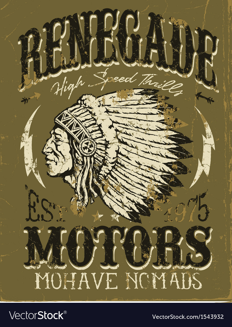 Vintage Americana Motorcycle Apparel Design