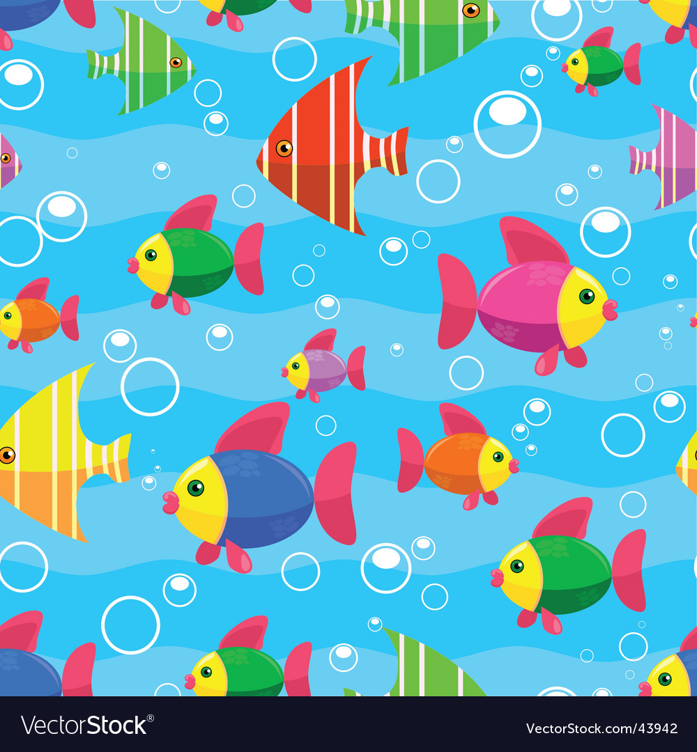 Sea seamless vector image