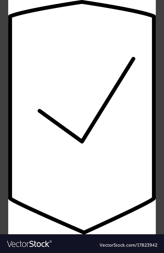 Success shield icon