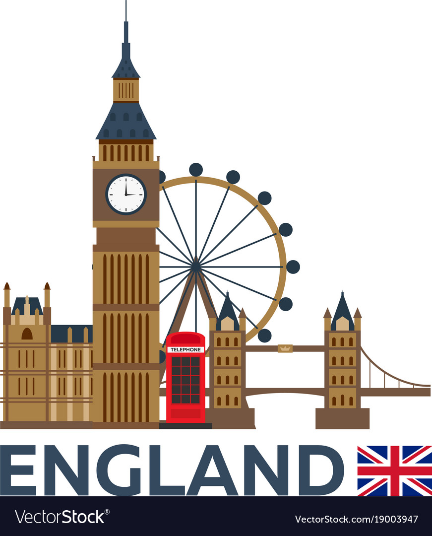 Travel to england london skyline big ban