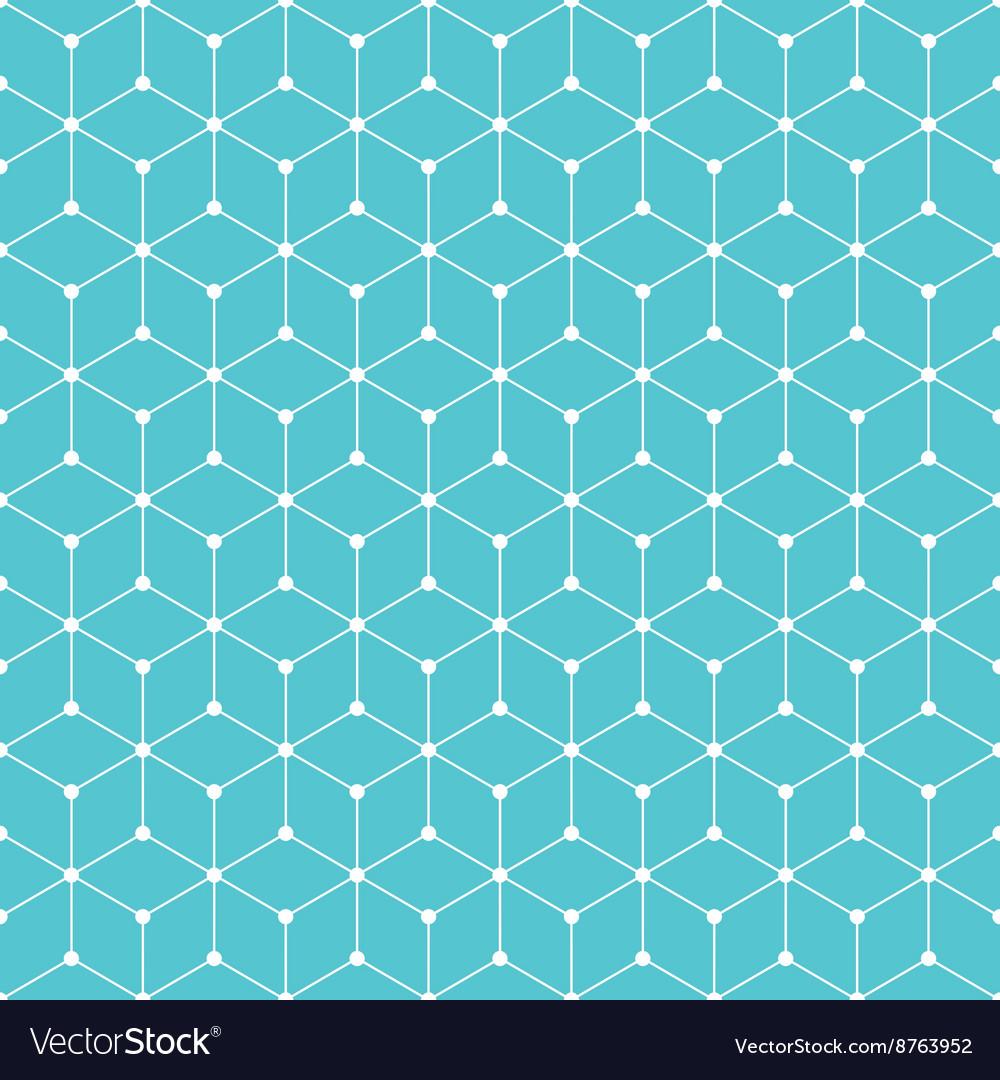 Cube dot pattern background