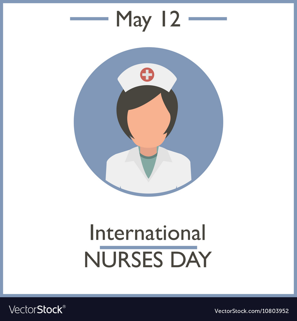 International Nurses Day vector image