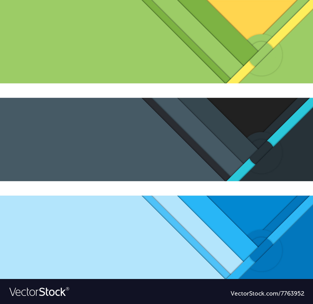 Material design background layout vector image
