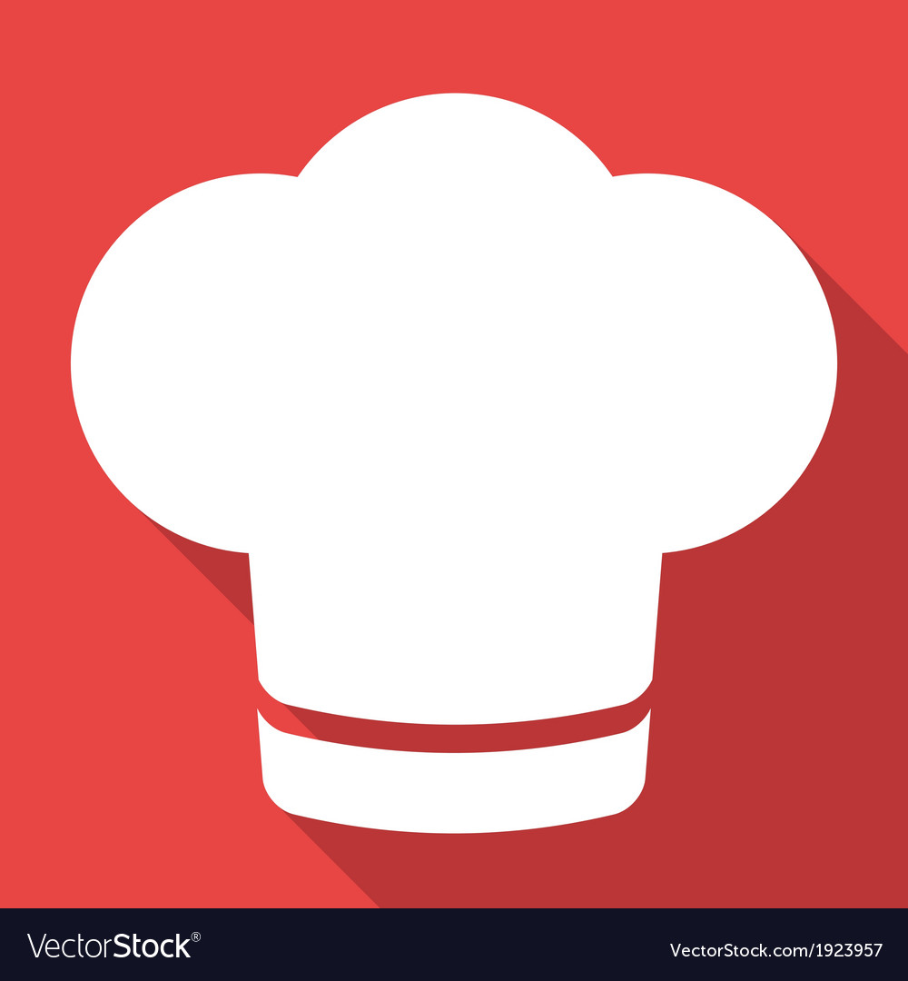 Chef cap icon Cooking hat Royalty Free Vector Image d042cce882d