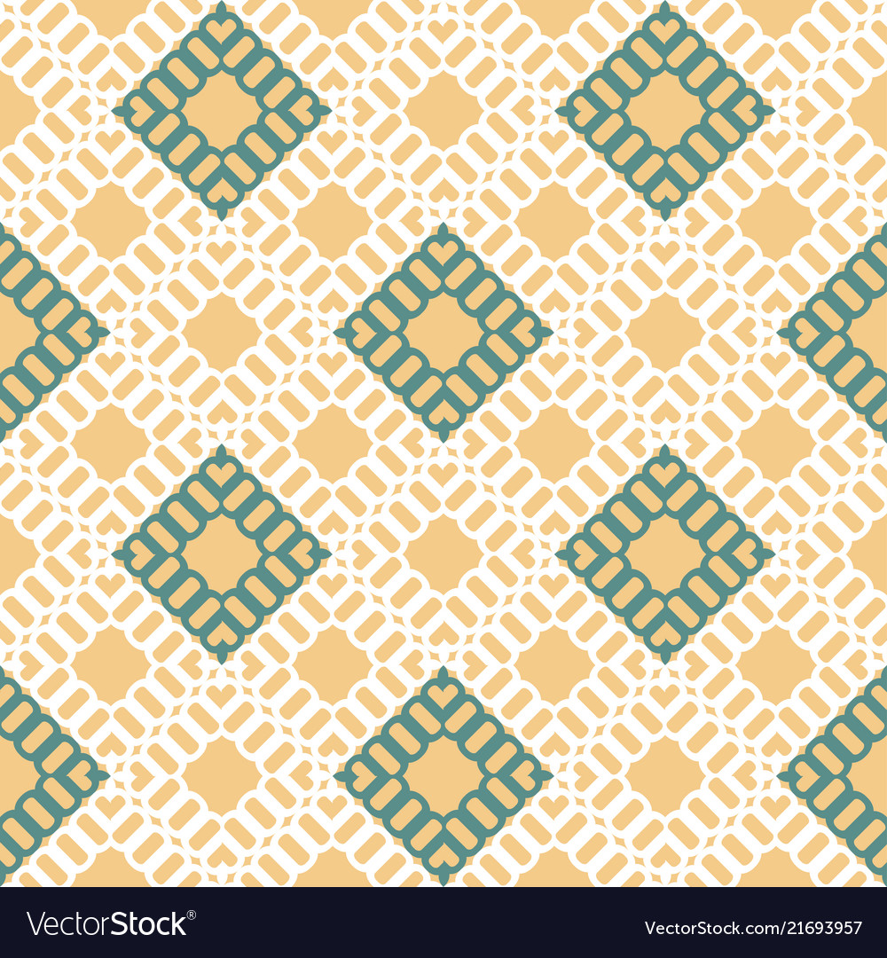 Geometric colorful seamless pattern with