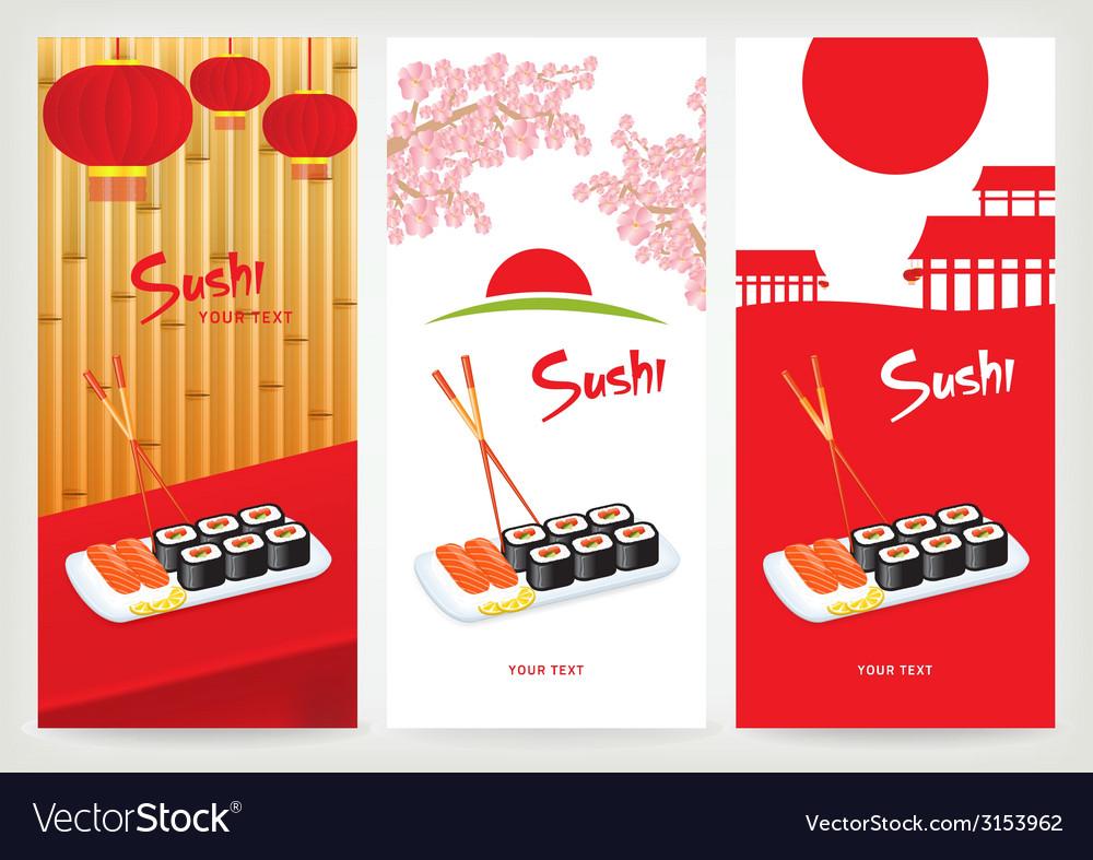 Banner sushi