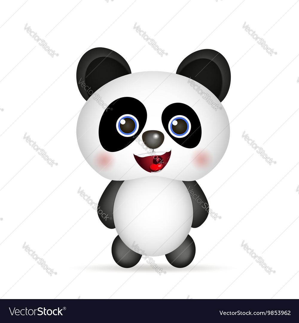 Cute Panda smiling
