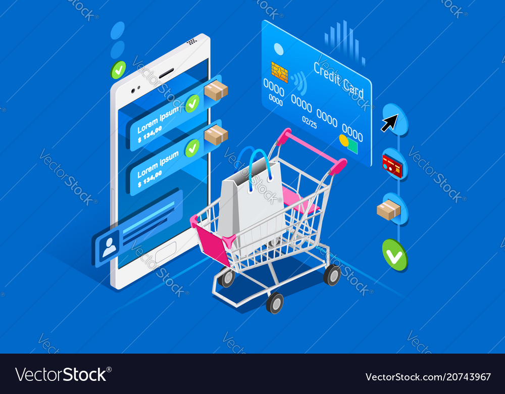 Shopping cart mobile interface