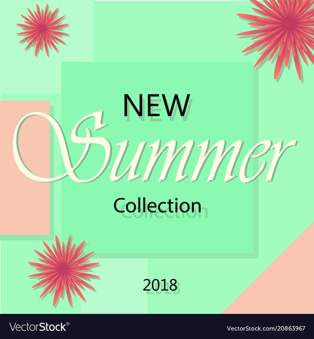 Summer fashion shopping banner template