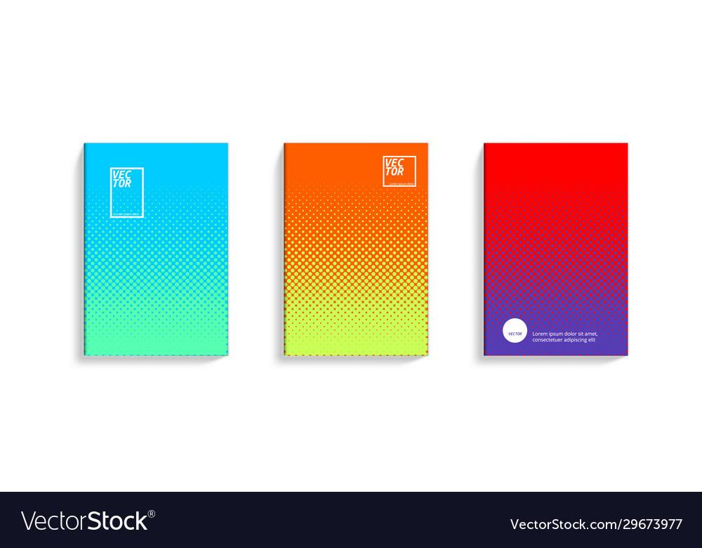 2d social media duotone gradient colorful covers