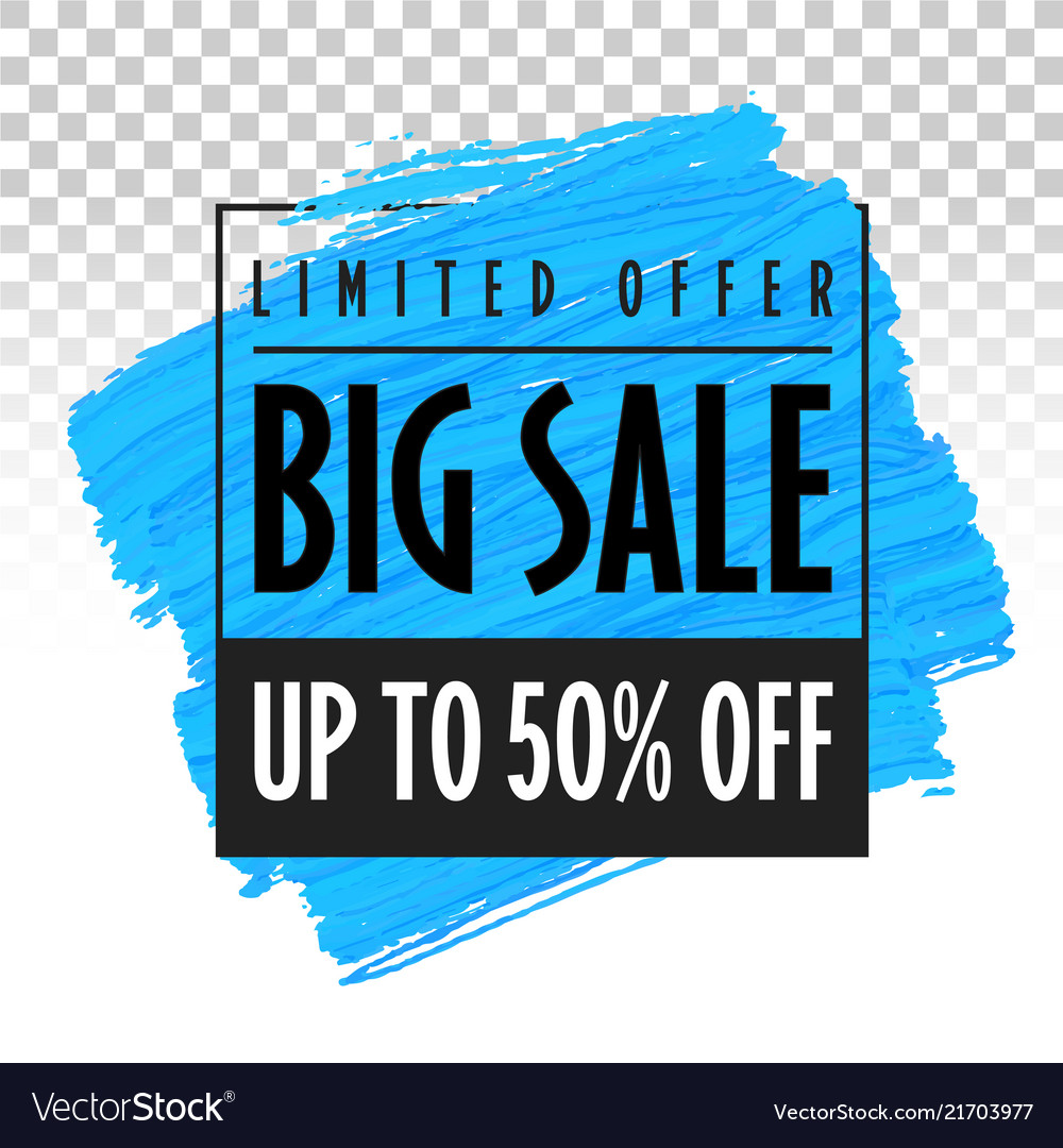 Big sale banner template trend eps